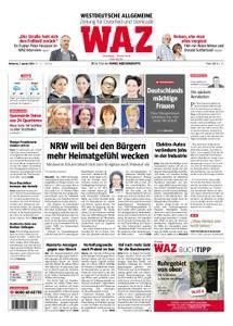 WAZ Westdeutsche Allgemeine Zeitung Oberhausen-Sterkrade - 03. Januar 2018