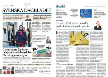 Svenska Dagbladet – 03 september 2019