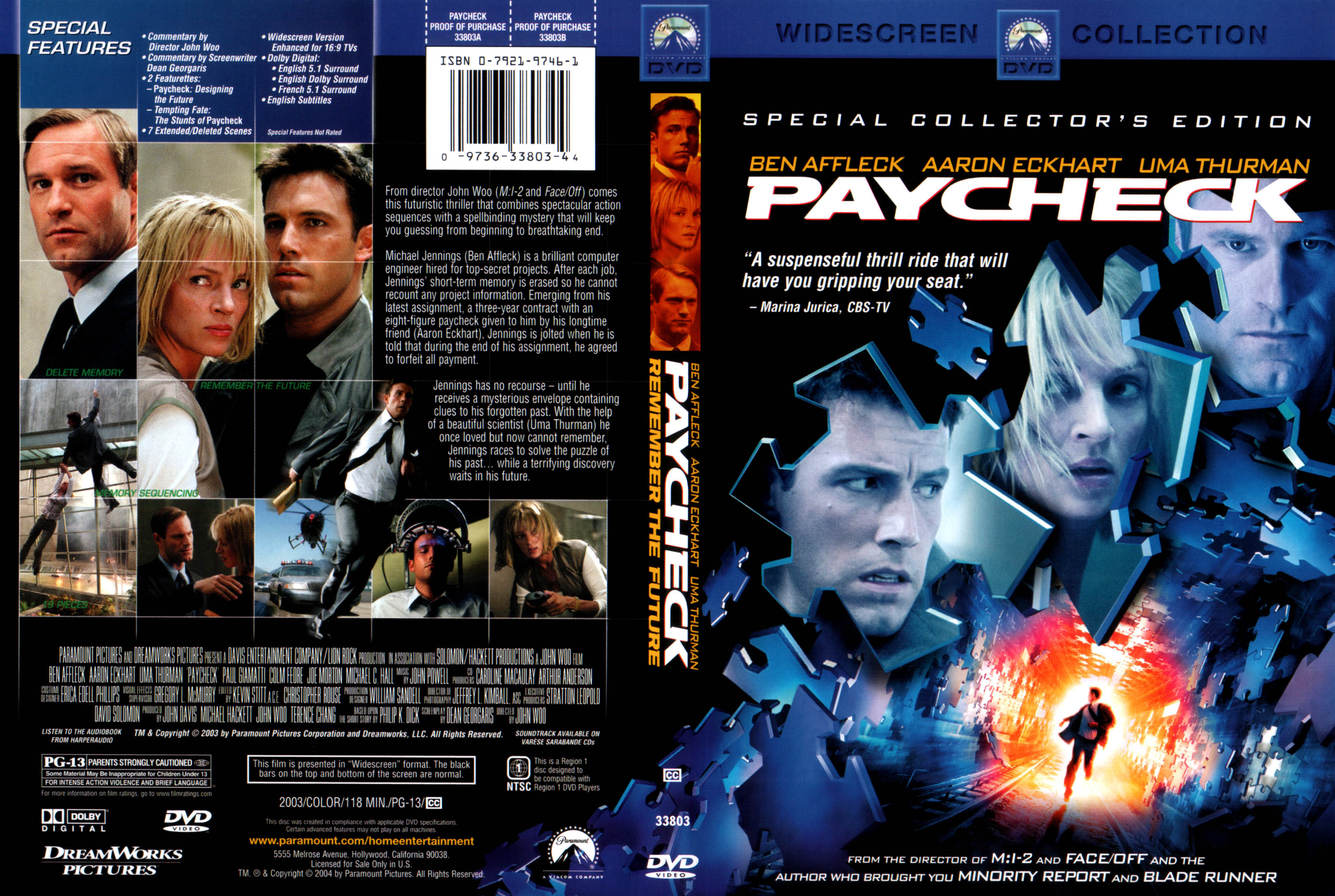 Paycheck (2003) Special Collector's Edition / AvaxHome