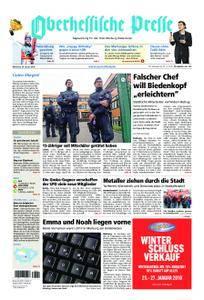 Oberhessische Presse Marburg/Ostkreis - 24. Januar 2018