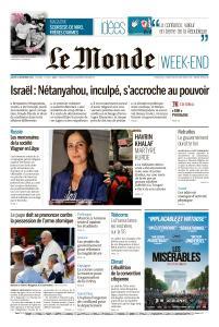 Le Monde du Samedi 23 Novembre 2019