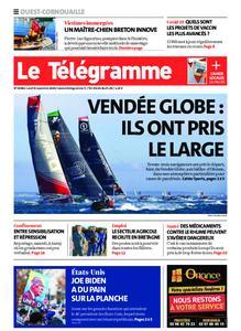 Le Télégramme Ouest Cornouaille – 09 novembre 2020