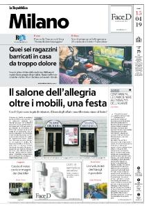 la Repubblica Milano - 15 Aprile 2019