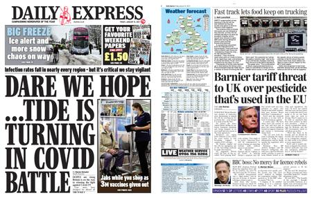 Daily Express – January 15, 2021