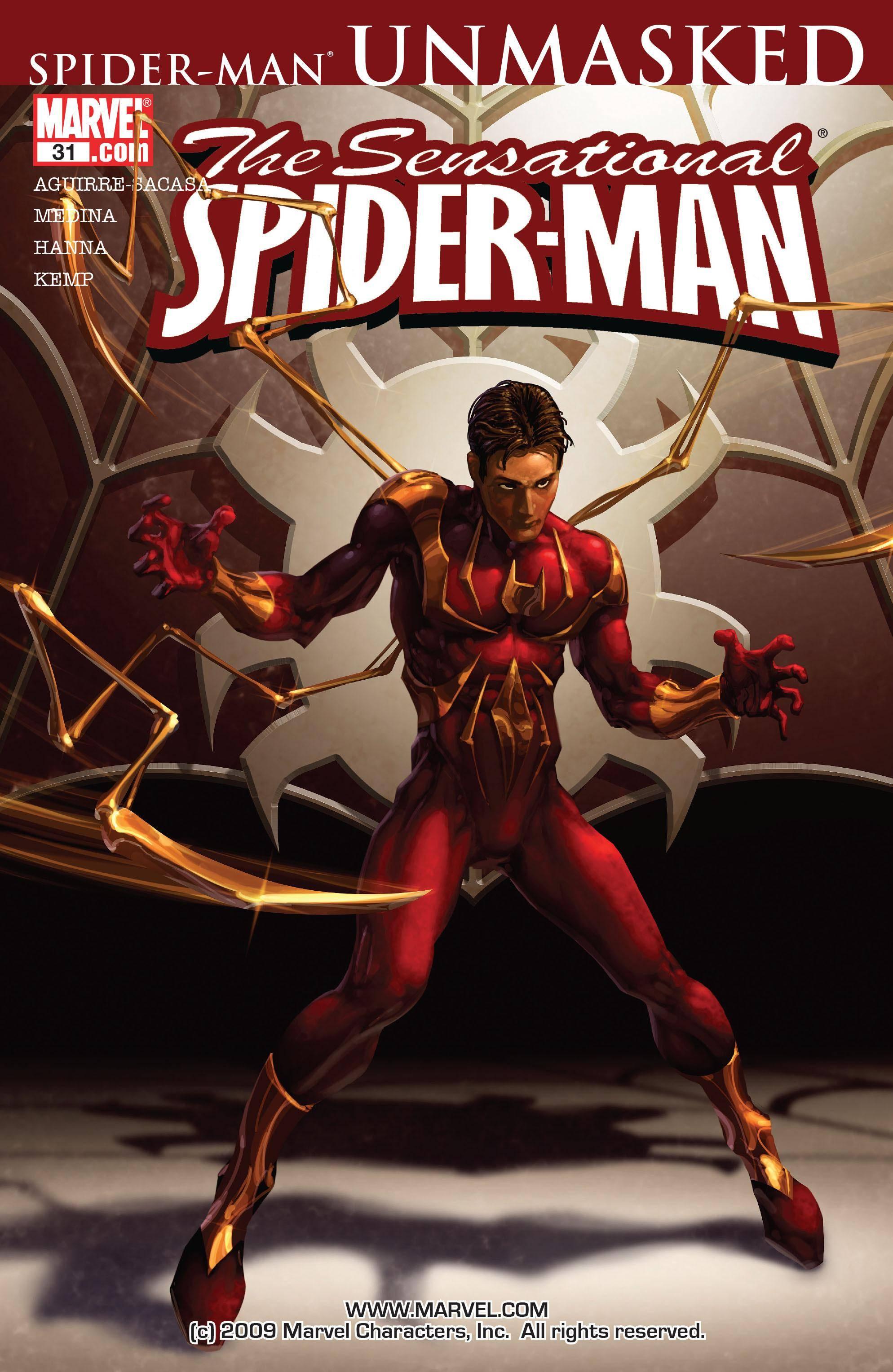 The Sensational Spider-Man 031 2006 digital