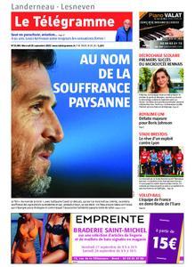 Le Télégramme Landerneau - Lesneven – 25 septembre 2019