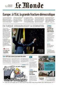 Le Monde du Mardi 26 Juin 2018
