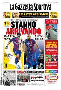 La Gazzetta dello Sport – 06 settembre 2020