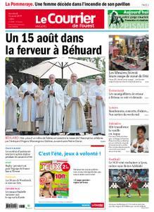 Le Courrier de l'Ouest Angers – 16 août 2019