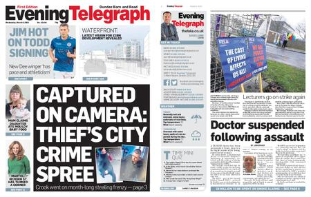 Evening Telegraph First Edition – March 06, 2019