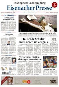 Thüringische Landeszeitung Eisenacher Presse - 29. März 2018