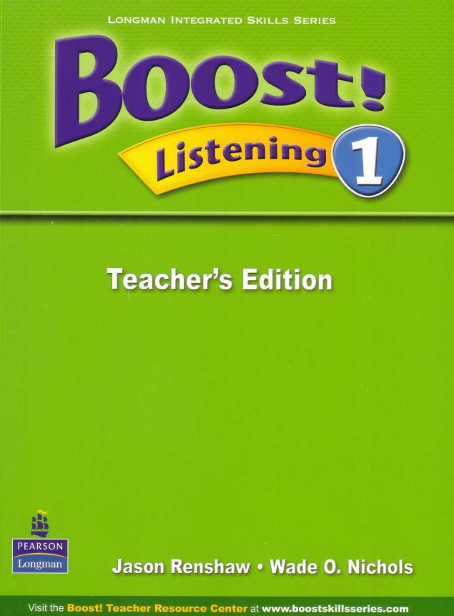Boost! Listening 1 : Teacher's Edition