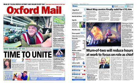 Oxford Mail – January 27, 2018