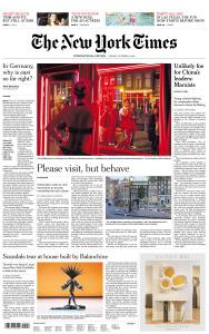 International New York Times - 5 October 2018