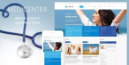 ThemeForest - MediCenter v9.5 - Responsive Medical WordPress Theme - 4718613
