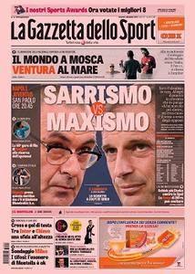 La Gazzetta dello Sport - 1 Dicembre 2017