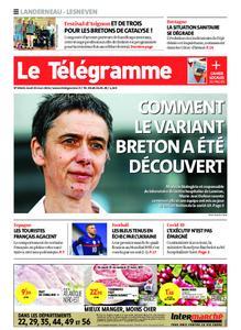 Le Télégramme Landerneau - Lesneven – 25 mars 2021