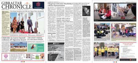 Gibraltar Chronicle – 15 May 2018