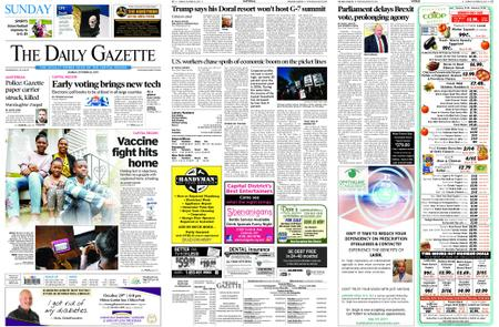 The Daily Gazette – October 20, 2019