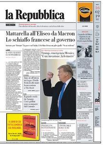 la Repubblica - 16 Febbraio 2019