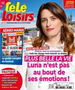 Télé Loisirs - 17 Mars 2020