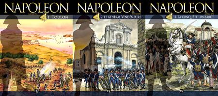 Napoléon - 3 Tomes