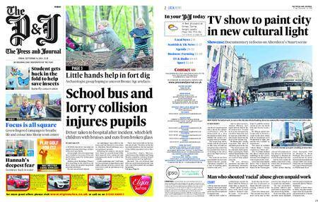 The Press and Journal Moray – September 14, 2018
