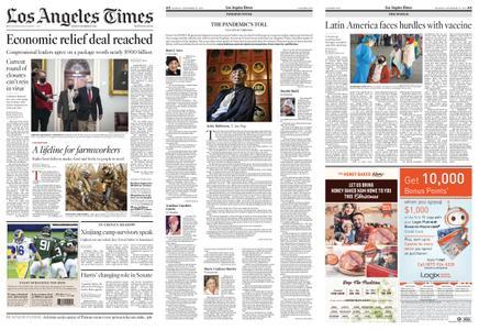 Los Angeles Times – December 21, 2020