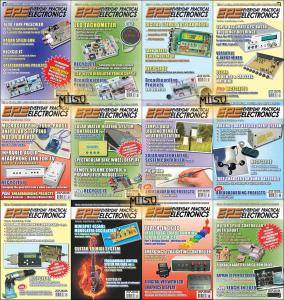 Everyday Practical Electronics (EPE) - Full Year 2009 Issues Collection