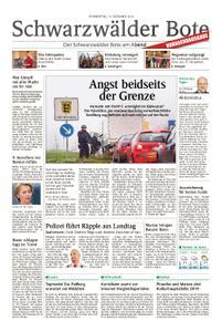 Schwarzwälder Bote Hechingen - 13. Dezember 2018