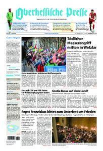 Oberhessische Presse Marburg/Ostkreis - 03. April 2018