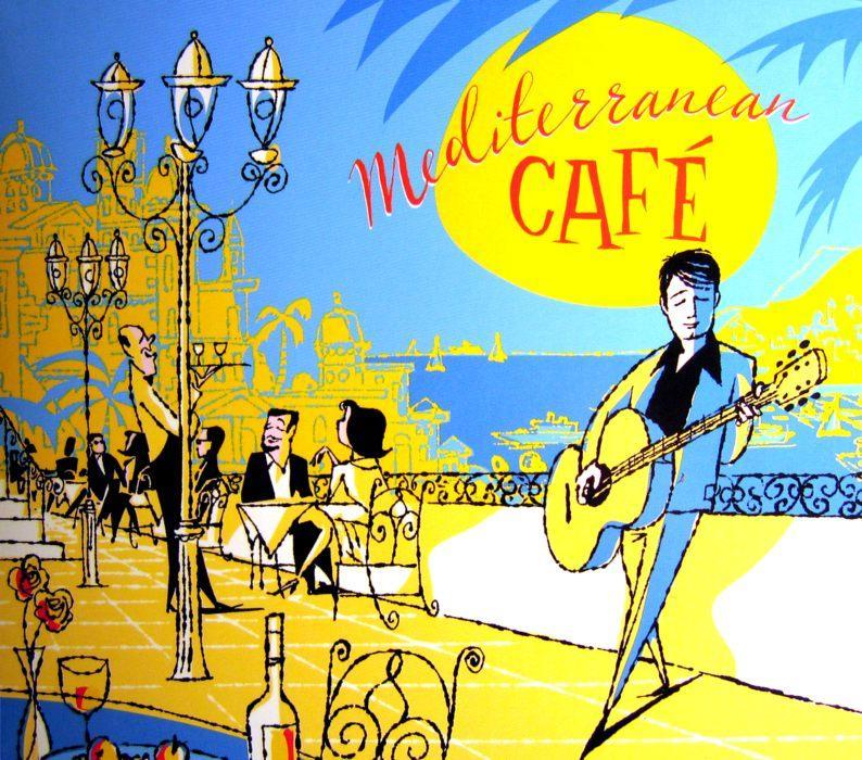 Chris Spheeris & Anthony Mazzella - Mediterranean Café (2004)