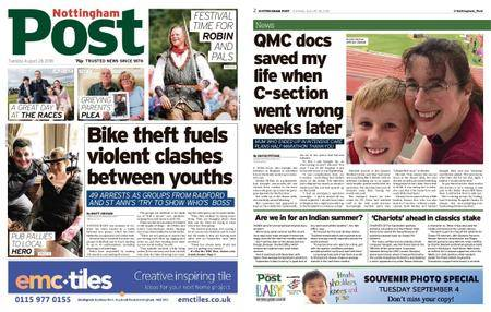 Nottingham Post – August 28, 2018