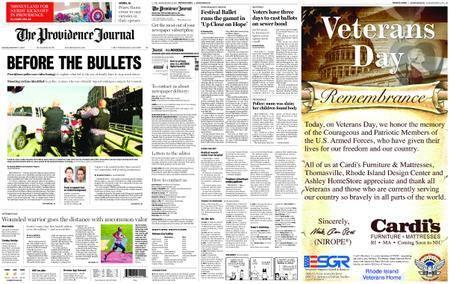 The Providence Journal – November 11, 2017