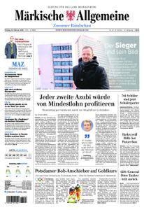 Märkische Allgemeine Zossener Rundschau - 19. Februar 2018