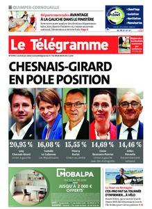 Le Télégramme Ouest Cornouaille – 21 juin 2021