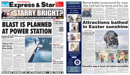 Express and Star Staffordshire Edition – April 23, 2019