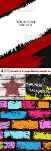 Vectors - Creative Grunge Backgrounds 13