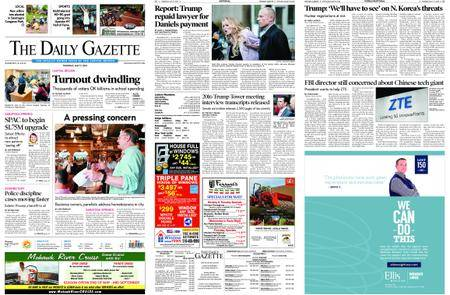 The Daily Gazette – May 17, 2018