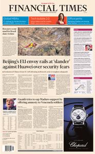 Financial Times Europe – 28 January 2019