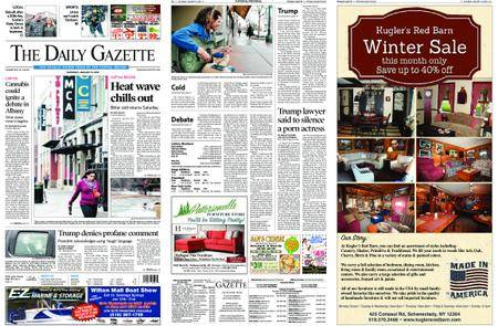 The Daily Gazette – January 13, 2018