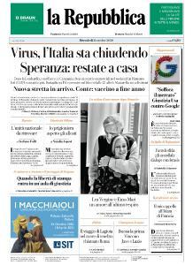 la Repubblica - 21 Ottobre 2020