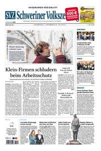 Schweriner Volkszeitung Hagenower Kreisblatt - 01. November 2018