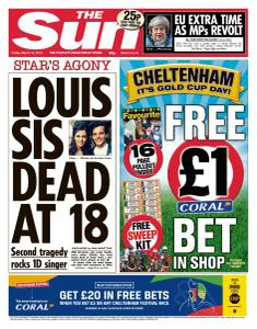 The Sun UK - 15 March 2019