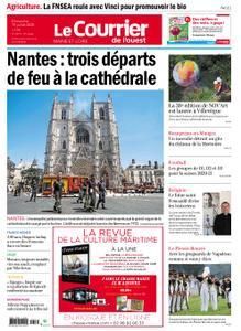 Le Courrier de l'Ouest Angers – 19 juillet 2020