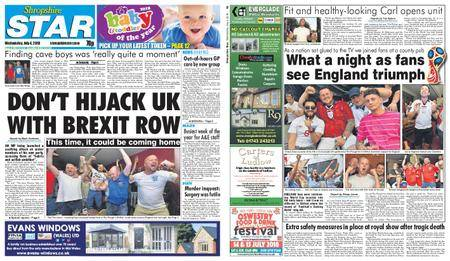 Shropshire Star Shrewsbury Edition – July 04, 2018