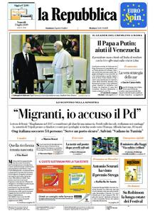 la Repubblica – 05 luglio 2019