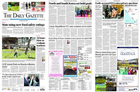 The Daily Gazette – April 28, 2018