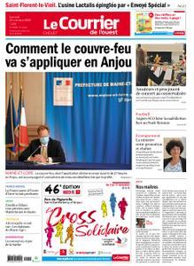 Le Courrier de l'Ouest Cholet – 24 octobre 2020