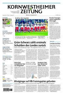 Kornwestheimer Zeitung - 20. September 2017